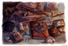 Winchesters' Survival Kit by Petite-Madame.deviantart.com on @deviantART