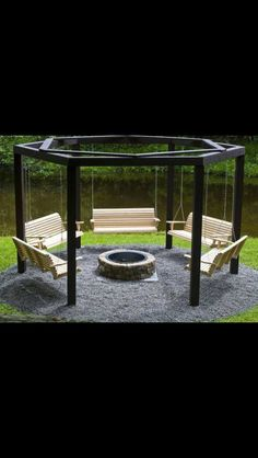 8 Authentic Tricks: Fire Pit Decor Pea Gravel built in fire pit seating. Small Fire Pit, Modern Fire Pit, Fire Pit Seating, Fire Pit Area, Seating Areas, Fire Pit Decor, Fire Pit Ring, Concrete Fire Pits, Outdoor Living