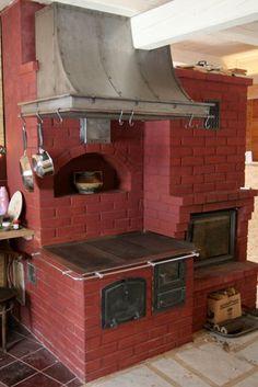Wykonawcy - wykonanie, Okap kuchenny Oli - nowy, stalowy okap, który zrobiliśmy dla naszej koleżanki Oli, nad tradycyjny piec kuchenny.