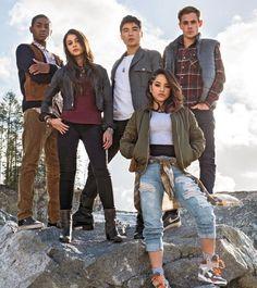 POWER RANGERS  (March 2017)    Movie 'Power Rangers' Release Date March 24, 2017    Genre: Action, Fantasy, Sci-Fi   Cast:Naomi Scott, RJ Cyler, Becky G., Ludi Lin, Dacre Montgomery   Director Dean Israelite