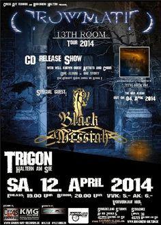 New-Metal-Media der Blog: Verlosung Crowmatic und Black Messiash #verlosung #metal
