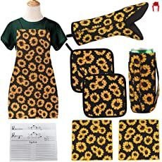 Shopping Cart Kitchen Linens Sets, Kitchen Sets, Gifts For Cooks, Gifts For Mom, Kitchen Curtains And Valances, Sunflower Kitchen, Sunflower Pattern, Kitchen Themes, Kitchen Accessories