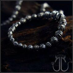d0f2309a0a68 Chrome Hearts Bracelet Silver Cross Beads Low Price Online  http   www.tradechromehearts