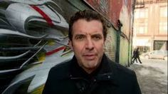 Met Rick Mercer having a smoke break 'out back' during Liberal convention.