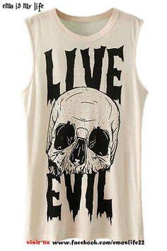 """ live evil "" eMo"