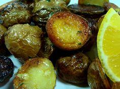 Greek style Baby Potatoes