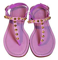 Mystique pink sandals with studs