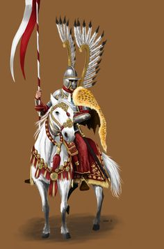Practice painting of famous Polish Winged Hussar from century. Made in Clip Studio Paint Polish Winged Hussar Character Concept, Character Design, Green Knight, Martial Arts Weapons, Knight Art, Knights Templar, Military Art, Fantasy Characters, Illustration Art