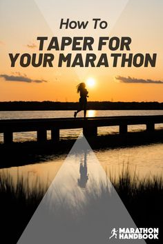 the marathon taper is a key part of the marathon training process - the decrease in training volume is important for getting you marathon ready. Here's how to nail your marathon taper! Half Marathon Tips, Half Marathon Motivation, Running Half Marathons, Half Marathon Training Plan, First Marathon, Marathon Running, Running Motivation, Running Humor, Running Tips