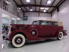 1936 Packard Twelve.