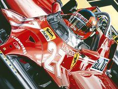 Un homenaje a Gilles Villeneuve - Taringa!