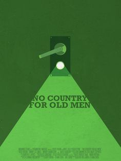 No Country for Old Men (2007) ~ Minimal Movie Poster by David Uribe #amusementphile