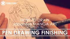 ✔ Pen drawing Inktober 2017 pic | How to draw Manga Art 2017.10.03