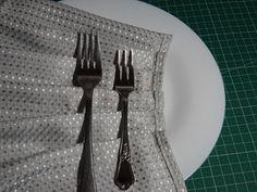 yo elijo coser: Truco casero para hacer pliegues en las telas con la ayuda de un tenedor