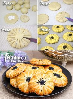 Croatian Recipes Turkish Recipes Bread Shaping Turkish Sweets Food Garnishes Fresh Fruits And Vegetables Cookie Designs Brioche Artisan Bread Bakery Recipes, Cooking Recipes, Turkish Sweets, Bread Shaping, Bread Art, Food Carving, Food Garnishes, Cake Decorating Techniques, Sweet Tarts