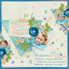 Page made by Conny using  Playing With Journal Cards #05 | Templates by Akizo Designs (Digital Scrapbooking layout)