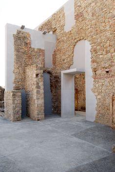 2tr architettura · Restauro della ex chiesa S. Antonio e degli orti del convento delle Clarisse a Santa Fiora