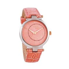Pink Leather, Watches, Accessories, Wristwatches, Clocks, Jewelry Accessories