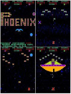Classic 80's arcade game