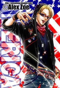 Tongue ring, new headcanon. Hot Anime Boy, Anime Guys, Alfred Jones, Punk Boy, Hetalia Anime, Hetalia America, Hetalia Characters, Hetalia Axis Powers, Punk Rock Fashion