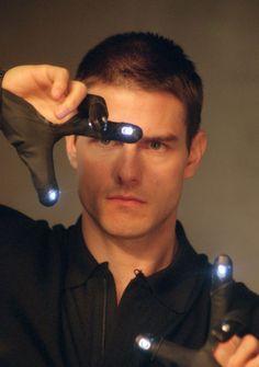 """*-* Tom Cruise en""""Minority Report"""", 2002"""
