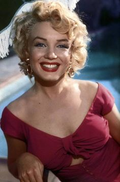 Marilyn photographed at Ray Anthony's party, 1952.