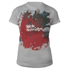 Coldplay Official Store   Life In Technicolor Women's Tee