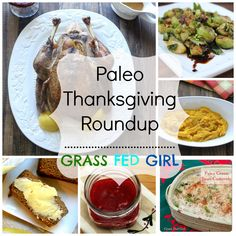 Paleo Friends Thanksgiving Roundup (gluten and dairy free)
