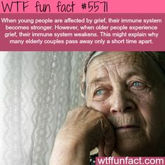 Grief makes young people stronger - WTF fun facts