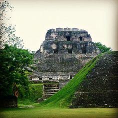 #Maya Ruins in #Belize #Xunantunich