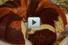 Marble Cake - Joyofbaking.com Been using this recipe for years.