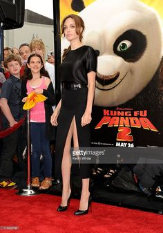 Actress Angelina Jolie arrives at the Los Angeles premiere Of DreamWorks Animation's 'Kung Fu Panda 2' held at Grauman's Chinese Theatre on May 22, 2011 in Hollywood, California.