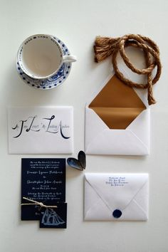 Hand stamping, such a personal touch but such an enthusiastic endeavor. One nonetheless we embraced, especially after learning of the exorbitant cost to print white ink on to dark blue card stock p...