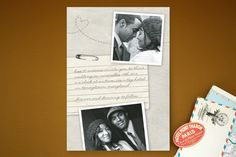 Memento Wedding Invitations by Erin Pescetto at minted.com