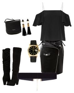 """""""Untitled #187"""" by adrianna-nicole-smith on Polyvore featuring Fendi, Dorothy Perkins, Lancaster, 8 Other Reasons and Rolex"""