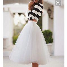 BHLDN short white tulle wedding skirt New never worn Bhldn Skirts A-Line or Full