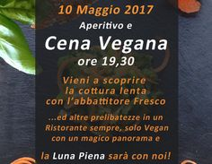 Aperitivo e Cena Vegana