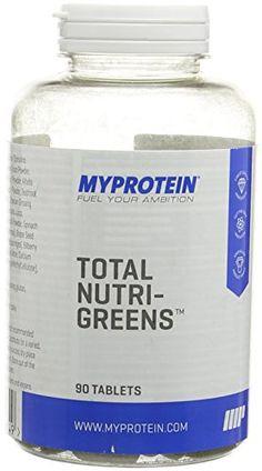 MyProtein Total Nutri-Greens Tablet - Pack of 90 Coconut Oil, Jar, Health, Food, Health Care, Essen, Meals, Yemek, Jars