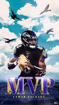Lamar Jackson MVP? (With images) Nfl football art, Nfl
