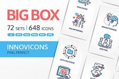 Innovicons Color Icons Full Bundle by Boyko Pictures Vr Helmet, Qr Code Scanner, Safe Deposit Box, Team Motivation, Signed Contract, Impatience, Photo Processing, Online Tutorials, Group Boards