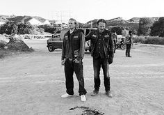"""I just think the scene between Charlie and Tommy [Flanagan] over the blood is really indicative of how brutal they took it. And then you got DL, David Labrava, literally sobbing in the back of the van. [Laughs] I don't think any of that was acting, really."" - 'Sons of Anarchy' star Mark Boone Junior talks Bobby's big moment"