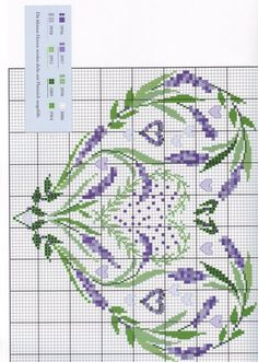 ru / Фото # 15 & Fancy lavender & Sumasbrodka The post Gallery.ru / Фото # 15 & Fancy Lavender & Sumasbrodka appeared first on Embroidery and Stitching. Embroidery Hearts, Embroidery Flowers Pattern, Hand Embroidery Stitches, Cross Stitch Embroidery, Cross Stitch Boards, Cross Stitch Heart, Cross Stitch Flowers, Cross Stich Patterns Free, Cross Stitch Designs