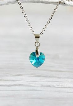 Hey, I found this really awesome Etsy listing at https://www.etsy.com/il-en/listing/224400169/blue-crystal-heart-necklace-swarovski