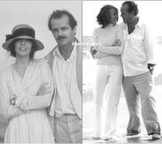 Forever life goals- 1981 vs 2003 ❤ Diane Keaton & Jack Nicholson