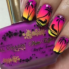 Palm Trees! - Nail Art Gallery