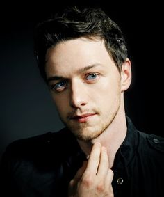 {James McAvoy} ah, those eyes.