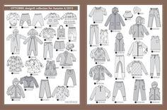 Ottobre kids 2015/4 herfst Bukser med lomme foran Ulvetrøje