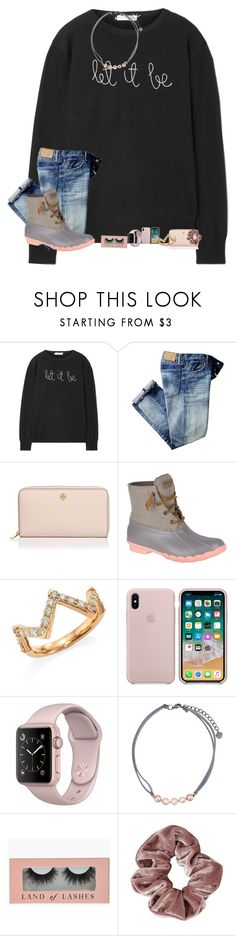 """""""•it snowed in south ms•"""" by mackenzielacy814 on Polyvore featuring Lingua Franca, Tory Burch, Sperry, Hearts on Fire, NAKAMOL and mrlloves"""