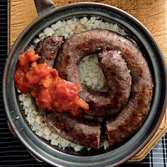 Koedoewors. South African Dishes, South African Recipes, Sausage, Recipies, Pork, Meat, Cooking, Game, Recipes