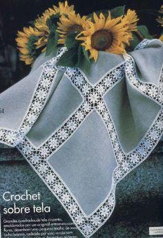 How to make a magic ring in crochet Crochet Dollies, Crochet Quilt, Crochet Tablecloth, Thread Crochet, Crochet Motif, Crochet Flowers, Crochet Lace, Crochet Stitches, Crochet Patterns